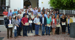 Los donantes utreranos homenajeados / ABC