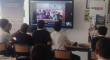 Alumnos de Sevilla y Siria comparten experiencias mediante videoconferencia