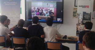Los alumnos se han comunidado en inglés / Foto: Altasierra