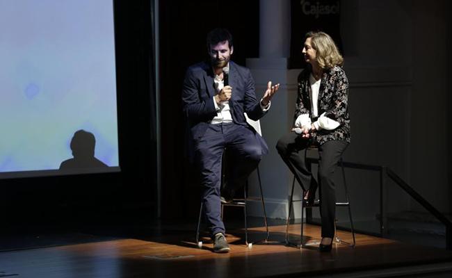 El director general de Autismo Sevilla, Marcos Zarmora, y su presidenta, Mercedes Molina FOTO: VANESSA GOMEZ
