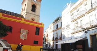 El Espacio Eslava está situado junto a la Iglesia de San Lorenzo / Rafa Sánchez