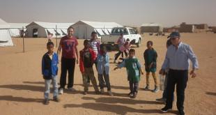 Menores en los campos de refugiados