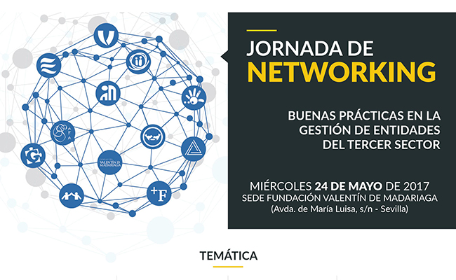 La Fundación Valentín de Madariaga acoge unas Jornadas de Networking: Buenas prácticas en la gestión de entidades del Tercer Sector