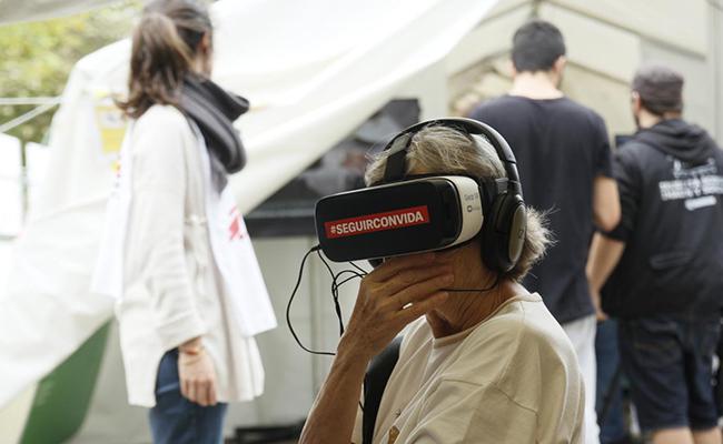 La exposición estará instalada hasta el domingo 28 / Foto: MSF