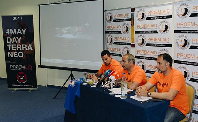 Rueda de prensa de Proem Aid en Sevilla / Facebook Proem Aid