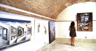 Sala de exposiciones en los bajos del Ayuntamiento. Foto: Alberto Mallado