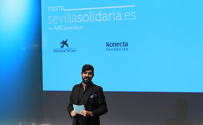 """SEVILLA. 25-MAYO-2017. FIESTA SEVILLA SOLIDARIA, ABC , KONECTA , OBRA SOCIAL """"LA CAIXA .FOTO : RAUL DOBLADO. ARCHSEV"""