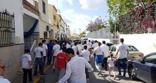 Jornada de Caridad en las calles del barrio de Pablo VI, en Alcalá