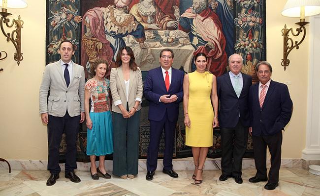 Miembros del Jurado para los Premios AFA 2017 / Foto: Cajasol