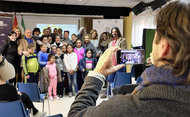 Presentación de los Talleres Pequeños Autores, el pasado enero FOTO: J.M.Serrano