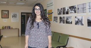 Laura Tobio, voluntaria de Sevilla Acoge