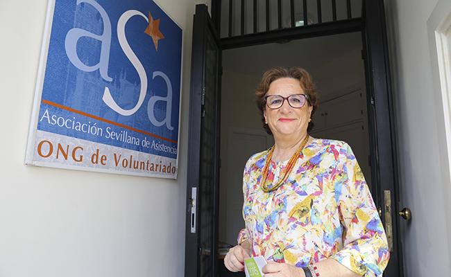 SEVILLA. 18/07/17. Entrevista a la vicepresidenta de ASA, Ana Pandurro. FOTOS: ROCIO RUZ. ARCHSEV