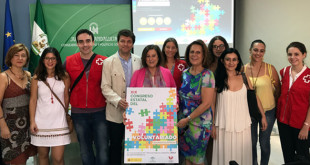 Presentación del Congreso Estatal de Voluntariado por parte de la Consejera de Igualdad / Junta de Andalucía