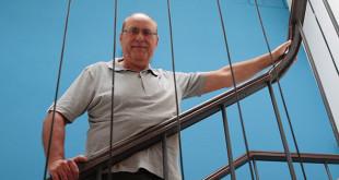 Manuel Sánchez, en la sede de la calle Beatriz de Suabia Foto: Pepe Ortega