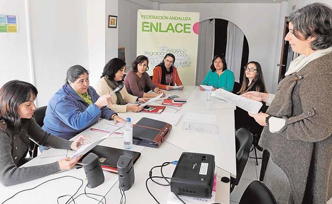 Una de las sesiones del programa OLA / Enlace