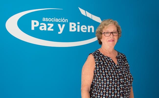 SEVILLA. 05-09-2017. ENTREVISTA A PEPA ROMERO, PRESIDENTA DE LA ASOCIACIÓN PAZ Y BIEN. FOTO: LAURA ÁLVAREZ. ARCHSEV.