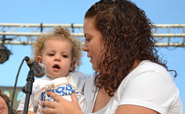 La pequeña Alexandra ya ha conquistado el corazón de todos los utreranos / ABC