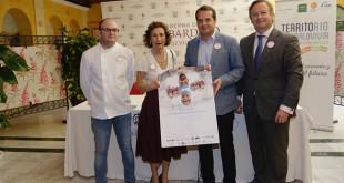 Luis Portillo, María Luisa Guardiola, Edmundo Hernández y Antonio Conde. FOTO: Vanessa Gómez
