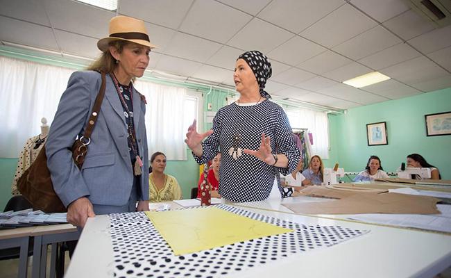 La Infanta Elena visita la Fundación Alalá en Sevilla / Vanessa Gómez