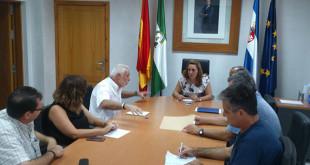 Encuentro en el ayuntamiento de El viso con colectivos de ayuda al pueblo saharaui / ABC