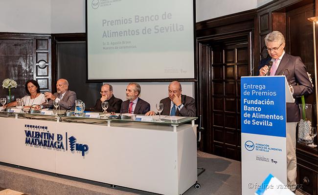 El Banco de Alimentos premia la solidaridad en Sevilla