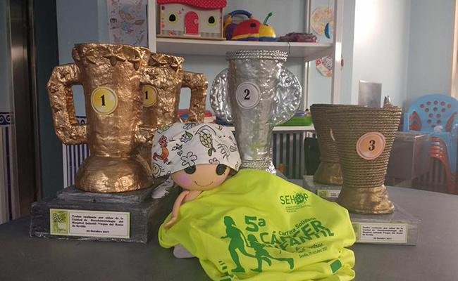 Los premios creados por los niños ingresados en el Virgen del Rocío
