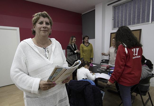 Araceli Muñoz, presidenta de Alef Sevilla / Juan Flores