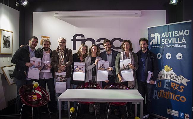 Presentación del calendario solidario 2018 de Autismo Sevilla