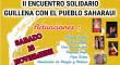 Encuentro solidario en Guillena con el pueblo saharaui