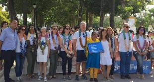 Los colegios utreranos en la participación de la ruta solidaria