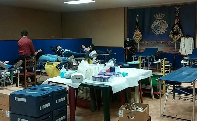 La actividad tenía como objetivo el fomento de las donaciones entre los más jóvenes / ABC