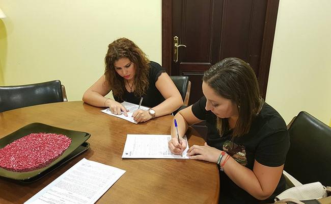 Acuerdo entre el Ayuntamiento y la asociación de ayuda al pueblo saharaui de Guillena