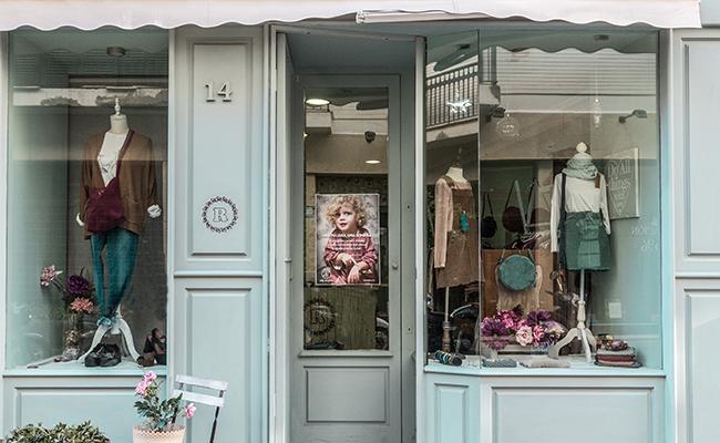 La tienda Rosette en la calle Rosario en el centro de Sevilla