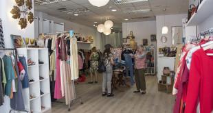 Interior de la tienda Piel de Mariposa / L.A.