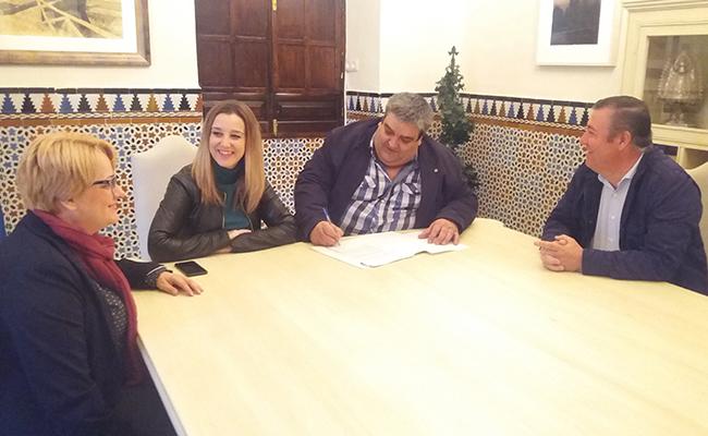 Firma del convenio de colaboración