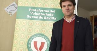 Armando Rotea en la sede la Plataforma. FOTOS: JESUS SPINOLA