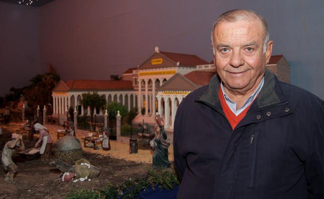 El maestro belenista Rafael Álvarez / L.A.