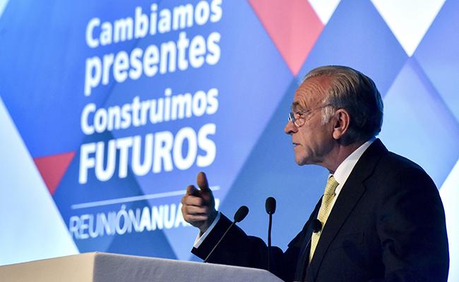 """Presidente de la Fundación Bancaria """"la Caixa"""", Isidro Fainé"""
