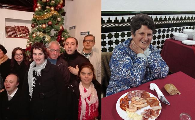 El pasado fin de año en la residencia de Paz y Bien en Santiponce