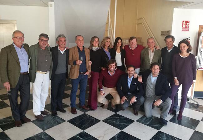 Miembros del patronato de la fundación / Alalá