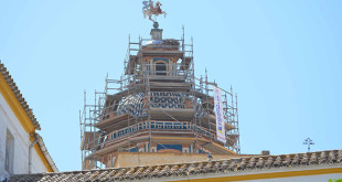 La iglesia de Santiago de Utrera está siendo objeto de importantes obras