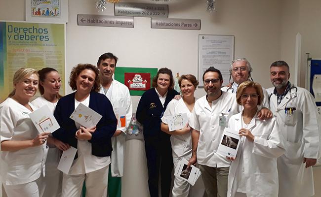 Profesionales del hospital que han puesto en marcha el proyecto
