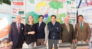 Juan Antonio Rodríguez, Isabel Guisado, Francisco Ribera, Guillermo Revuelta, Miguel Jaraque y Antonio Bustos en la presentación / L.A.