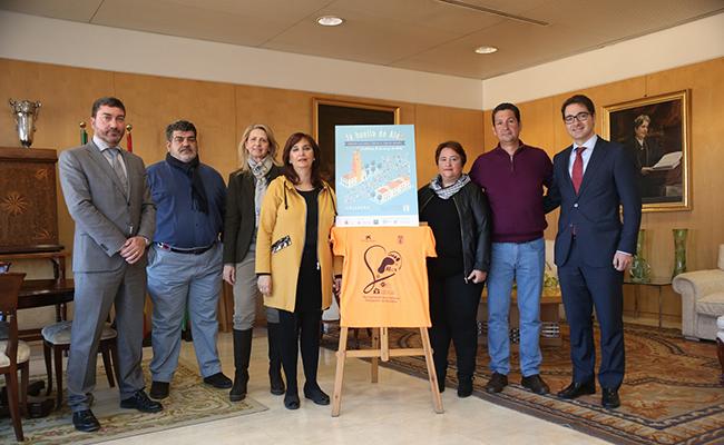 Presentación de la carrera en el Ayuntamiento de Cantillana
