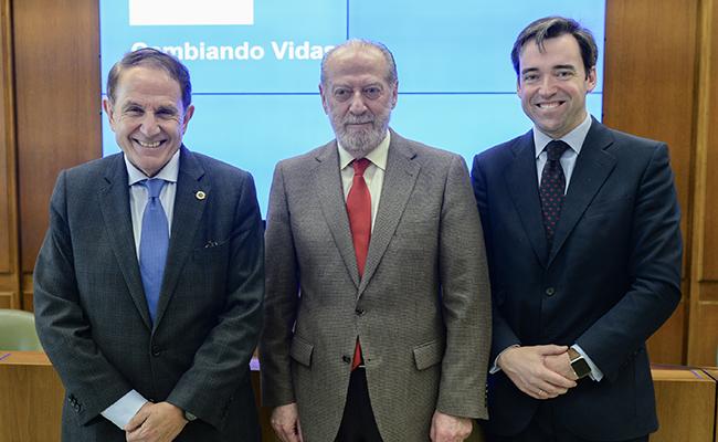 Antonio Pascual, Fernando Rodriguez Villalobos y Carlos Gómez-Múgica / Fundación Integra