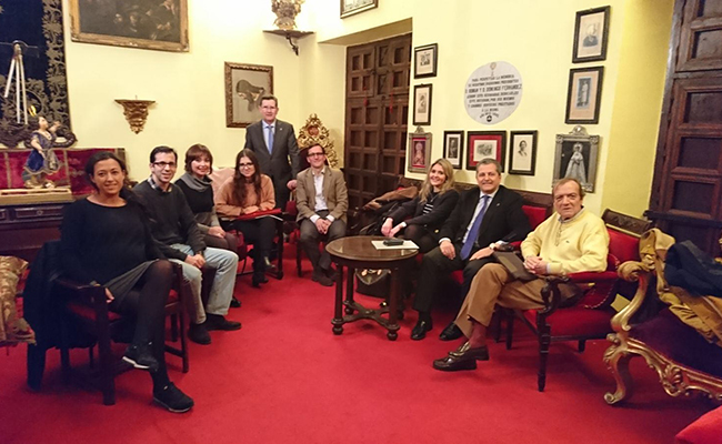 Reunión de coordinación del equipo de letrados y voluntarios que forman parte del proyecto Abogados de la Merced