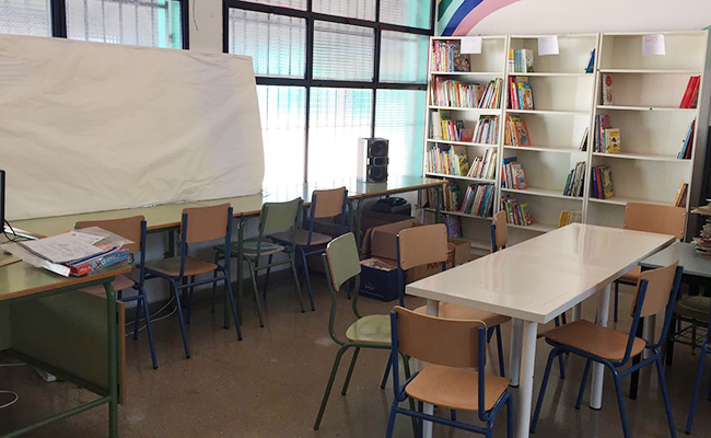 biblioteca-colegio-poligono-sur