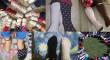 Sevilla viste calcetines diferentes en el Día Mundial del Síndrome de Down