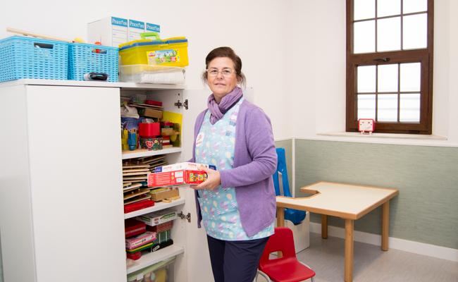 Yolanda Sotelo, en su despacho / L.A.
