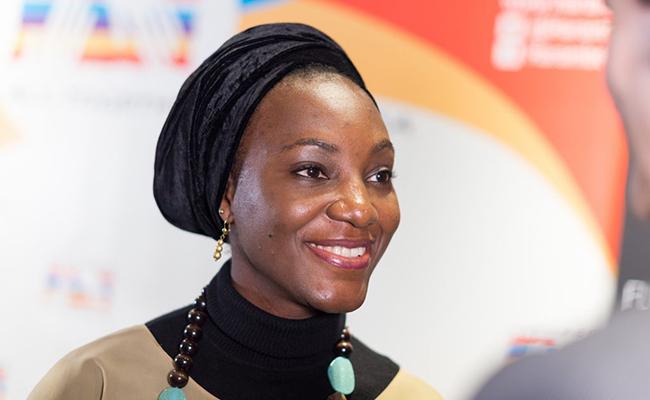 Ebele Okoye, promotora del Proyecto social AMAD de Women Board / Harambee España